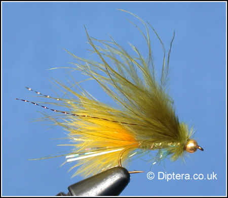 Dawson's Olive with Sunburst Tail Fly Image