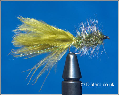 Olive Wooly Bugger Lure Fly Image