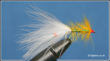 How to Add a Fluorescent Bead into a Marabou Tail